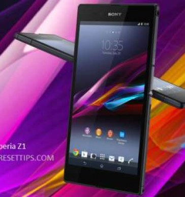 Hard reset Sony Xperia Z1 | How to restart Sony Xperia Z1.