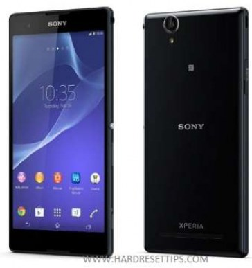 Hard Reset Sony Xperia T2 for restore Xperia Factory settings