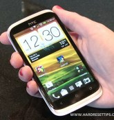How to htc desire x hard reset for unlocked and restore factory settings