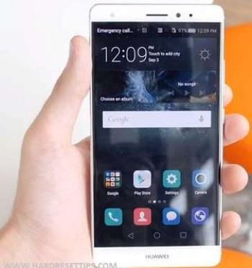 How to unlock a huawei phone mate S and reset Screen lock via huawei hard reset