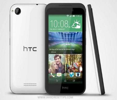 How to reset a htc desire 320