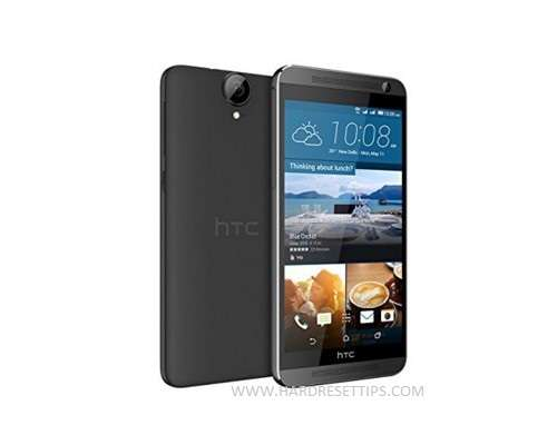 Factory reset htc One E9 and restore factory settings
