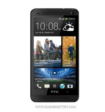 How to factory reset htc one m7 and unlocked htc m7