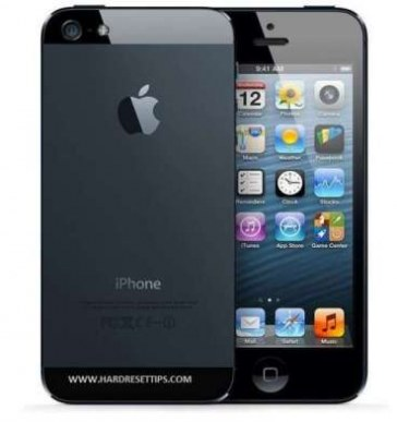 Factory reset iPhone 5 | how to unlock iPhone 5 via hard reset process