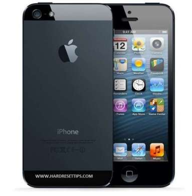 unlock iPhone 5 and factory reset